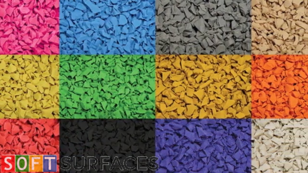 Wet Pour Playground Surface Colours | Playground Surfacing Colours