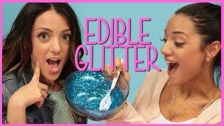 NikiAndGabiBeauty Edible Glitter?! | Niki and Gabi DIY or Di-Don