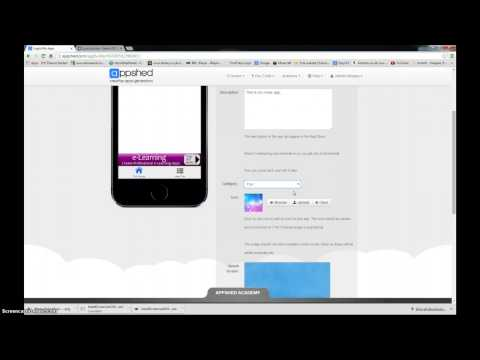Appshed tutorial 1 - creating your app
