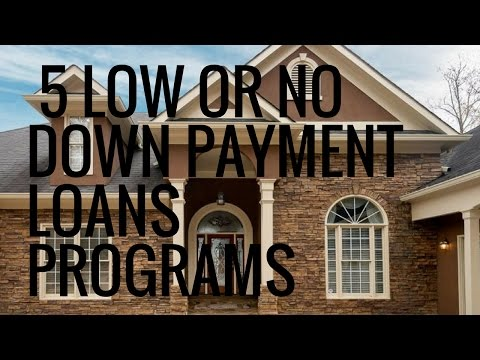 First Time Home Buyer Programs - 5 Low Or No Down Payment Loans Programs