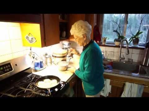 Carolyn Makes Hot Water Cornbread