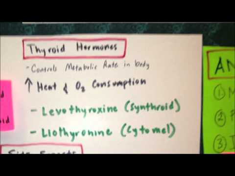 NCLEX Review Pharmacology Thyroid Medications