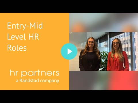 Entry-Mid Level HR Roles