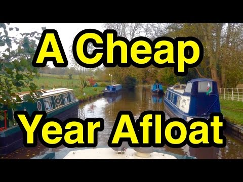 My Narrowboat Living Costs: A Very Cheap Year Afloat!