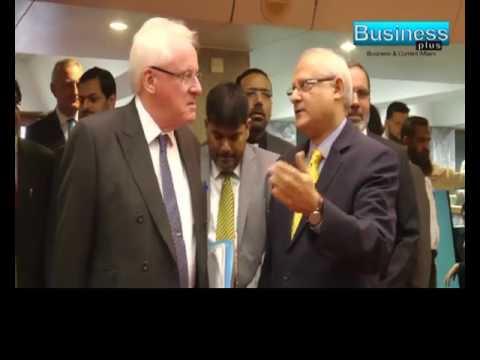 Pakistan Stock Exchange London Lord Mayor Dr Andrew report Ayaz Rana Busniess Plus News