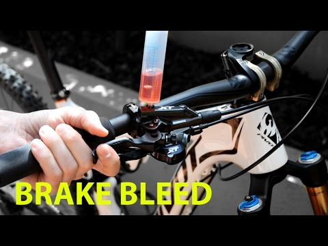 EASY BRAKE BLEED   Method used in AUTOMOTIVE INDUSTRY  SHIMANO XT 