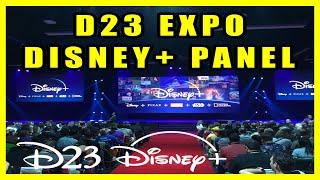 🔴 LIVE Disney + Panel D23 Expo 2019