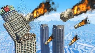 The BIGGEST Meteor Shower EVER!! (GTA 5 - Apocalypse)