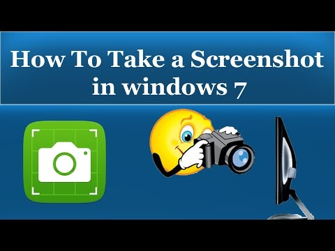 How To Take a Screenshot on Windows 7 - Without Any Software