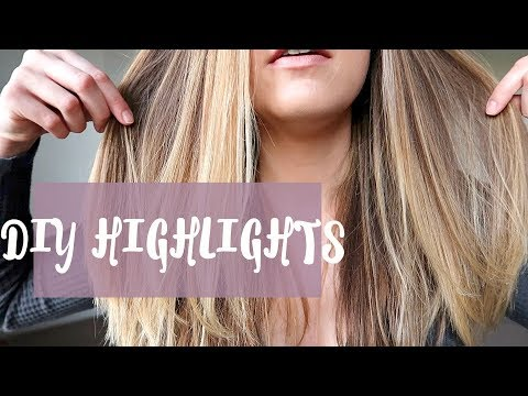 DIY £5 AT HOME OMBRE/BALAYAGE/HIGHLIGHTS BLONDE TUTORIAL