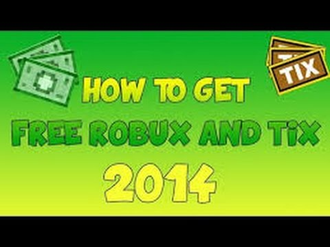 How to get Free Robux and Tix 2014