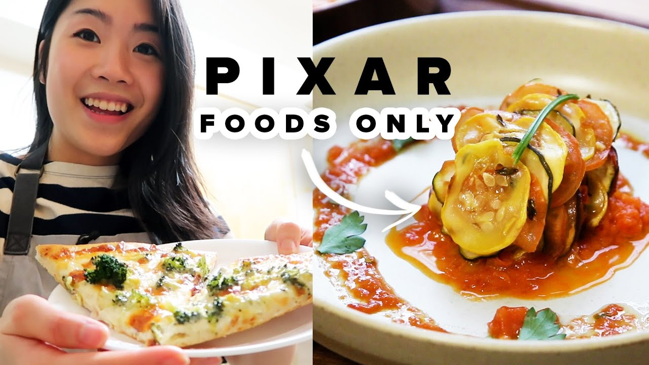 I Only Ate Pixar Foods For 24 Hours