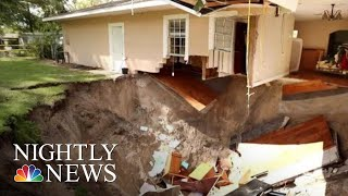 Dozens Of Sinkholes Appear Across Central Florida After Heavy Rain | NBC Nightly News