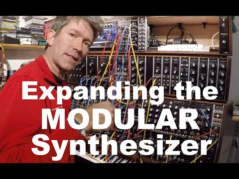 Expanding the Moog Modular synthesizer & making the Attenuator