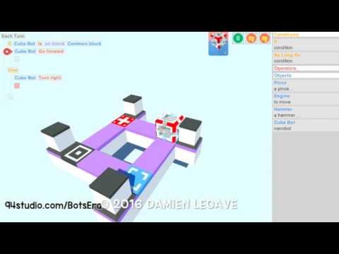 BotsEra NanoBots Puzzles Game