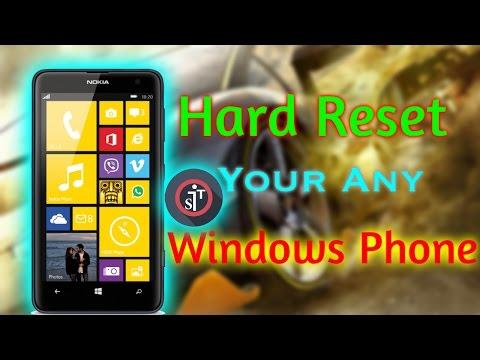how to hard reset htc windows 8s