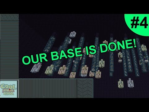 OUR BASE IS FINALLY DONE! ~ EXTINCTIONPVP #4 (Minecraft Factions)