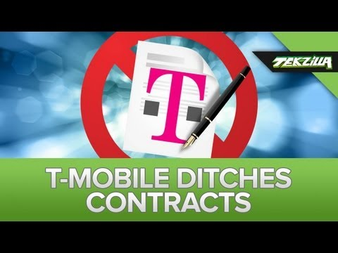 T-Mobile Ditches Contracts, Adds iPhone 5 and LTE