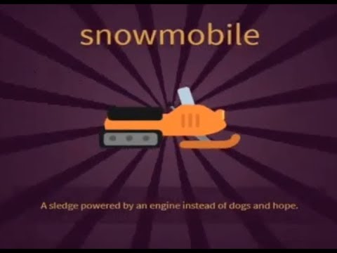 LITTLE ALCHEMY 2- how to make SNOWMOBILE