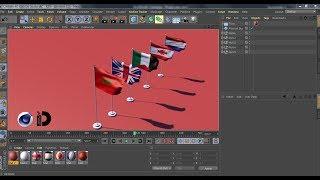 38:24) Cinema 4D Flag Cloth Dynamics Video - PlayKindle org