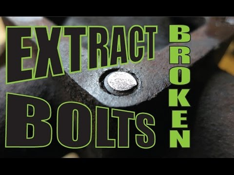 Easiest way to remove a broken bolt