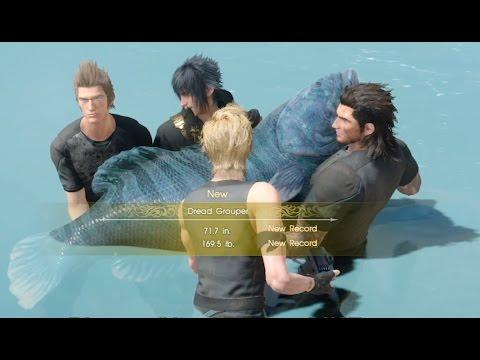 Final Fantasy XV: Biggest Fish (Dread Grouper)