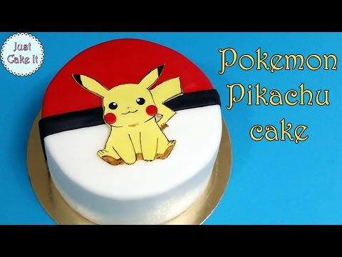 How to make Pokemon Pikachu cake