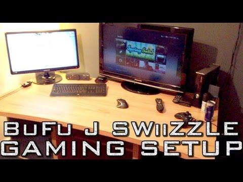 EPIC GAMING SETUP (XBOX TV PC BEDROOM)