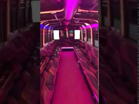 40 Passenger Party Bus Limo Rental - NJ/NY MoonLight Limo
