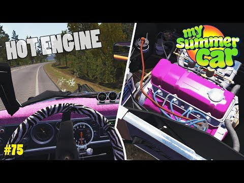 Repainting the Engine - Car Trouble | My Summer Car Experimental Update