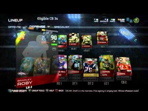 #MUT15 Lineup update - ALL TIME PANTHERS SQUAD UPDATE - 97 FLASHBACK DEANGELO WILLIAMS