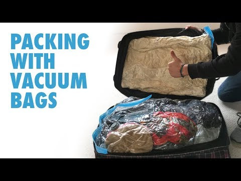 Vacuum Bags for Travel - Packing with Vacuum Bags.
