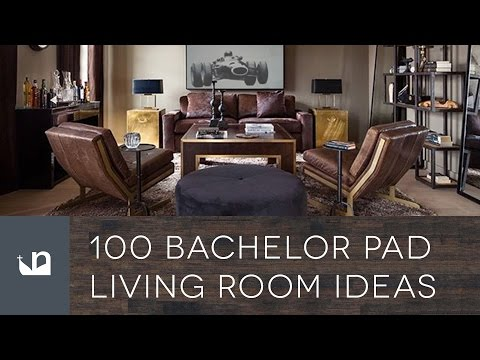 100 Bachelor Pad Living Room Ideas For Men