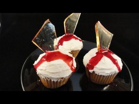 Decorating Cupcakes #113: Broken Glass