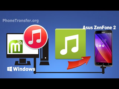[iTunes to ZenFone 2]: How to Sync Music & Playlist from iTunes to Asus ZenFone 2 / 5