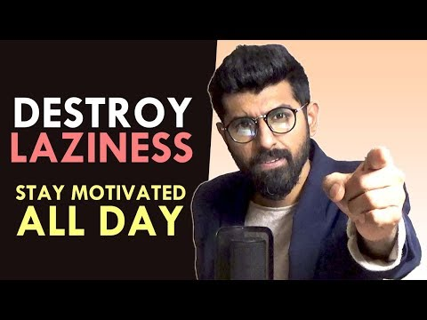 How to Stay Motivated All Day | Destroy Procrastination