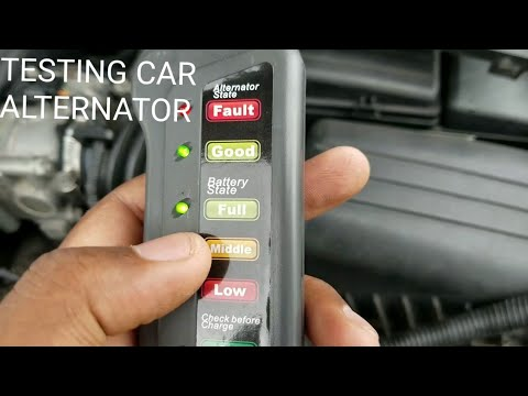 HOW TO CHECK AN ALTERNATOR AND BATTERY TUTORIAL