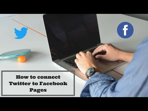 How to connect your twitter to facebook Page || Twitter Profile to facebook || Rakesh Tech Solutions