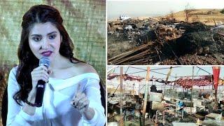 Anushka Sharma Reacts To Padmavati Set Attack | Bollywood Buzz