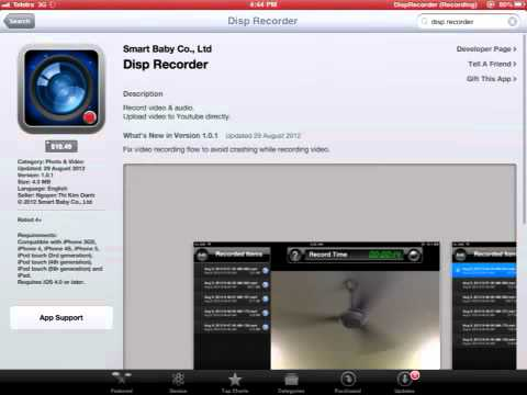 How to record IOS screen without jailbreak