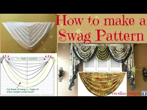 How to make a swag pattern