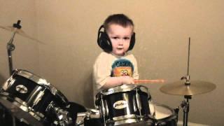 Amazing Kid Drummer