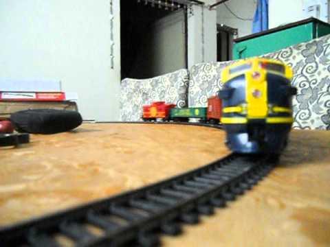 My Rail Charger model train set First test run part 2