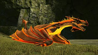 """ARK: Extinction Mod #38 - Mình Tiến Hóa Siêu Rồng Lửa """"The Unknown Fire Wyvern"""", Bá Chủ Gaming ^^"""
