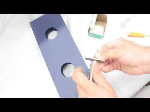 Lock Install Tool - Recentre Holesaw