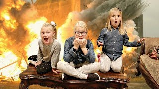 EXPLOSION at Grandma's House!