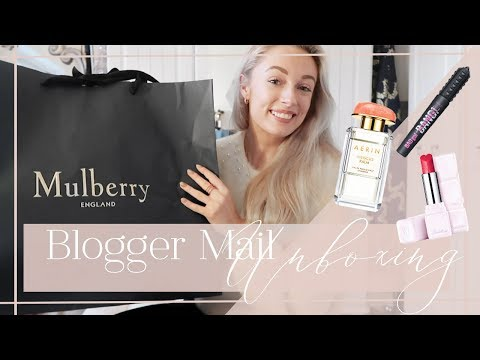 UNBOXING MY PO BOX // Blogger Mail Haul //  Fashion Mumblr