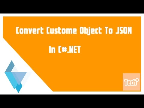 Custom Object for Convert to JSON in C#