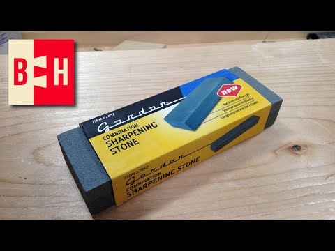 Harbor Freight Sharpening Stone Review