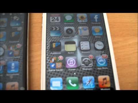 test et comparaison de l'iphone 4 CDMA